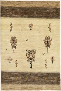 ◆ペルシャギャッベ◆手織り手紡ぎ◆GABBEHギャッベ◆カーペット◆イラン◆ペルシャ絨毯◆リビングサイズ 204cmx304cm lo112