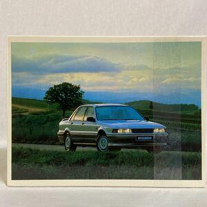 非売品 三菱 ギャラン 500ピース ジグソーパズル 旧車 ノベルティー ディーラー販促品 グッズ MMC GALANT 6代目 VR-4 E31 E32 E33 当時物
