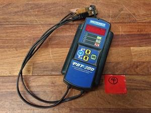 ★中古★④ミドトロニクス MIDTRONICS PBT-200 バッテリーテスター 診断機 自動車整備 )倉a