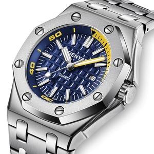 【送料無料】海外ブランド BENYAR メンズ 腕時計ファッション トップブランド 高級 クォーツ時計 男性 カジュアル 防水 スポーツ