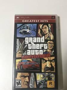 【PSPソフト】希少レア_海外版(輸入版)grand theft auto Liberty City Stories(英語の勉強をしながらGAMEを!)