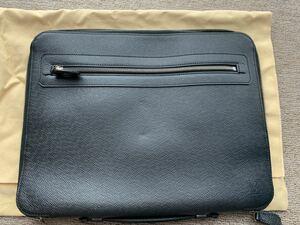 Louis Vuitton ルイヴィトン クラッチ バッグ タイガ レア メンズ館購入 ジッパー セカンドバック