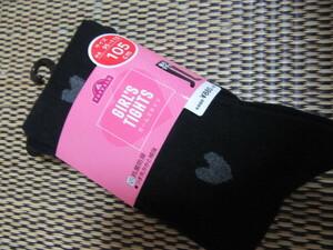 New Girls Tights 95100105110115 cm Antibacterial Deodomer Domanto Captured 968 yen Immediately 130 Yen Black Heart