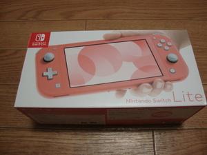 ★ 新品・送料込 Nintendo Switch Lite コーラル ニンテンドースイッチ ライト HDH-S-PAZAA 保証有り ★