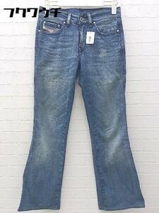 ◇ DIESEL ディーゼル イタリア製 RAME ダメージ加工 ウォッシュ加工 デニム パンツ サイズ27 インディゴ レディース
