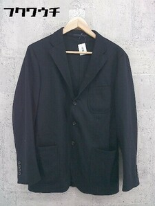 ◇ UNITED ARROWS ユナイテッドアローズ 2B 長袖 テーラード ジャケット サイズM ネイビー系 メンズ