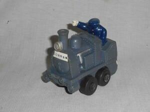 古いソフビ6★蒸気機関車・SL・信用金庫★企業物・非売品