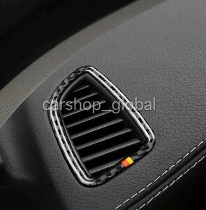 メルセデス ベンツ C/GLCクラス W205/AMG等 エアコンベントトリム カバー 国旗カーボンタイプ 左右セット インテリア AC 左ハンドル用
