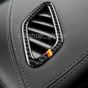メルセデス ベンツ CLA/GLAクラス W117/C117/X117/X156/45AMG等 エアコンベントトリム カバー 国旗カーボン 左右セット インテリア AC