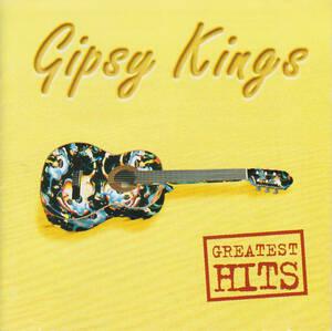 ジプシー・キングス<GIPSY KINGS>「グレイテスト・ヒッツ」ベスト盤CD<ジョビ・ジョバ、ボラーレ、他収録>