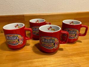 ミニーマグカップ4個セット