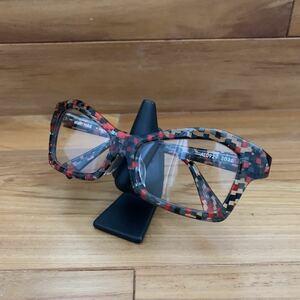 ほぼ新品 アランミクリ AL0929 定価33600円 伊達眼鏡 サングラス 伊達メガネ メガネ セルロイド セルフレーム