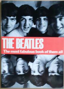THE BEATLES(ザ・ビートルズ)◇ 帯付き写真集「The most fabulous book of them all」1964年発行レプリカ