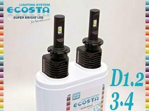 LED ヘッドライト キットB D1 D2 D3 / 6000k 40W 4000lm 純正 HID車 加工用 ( BENTLEY ベントレー コンチネンタル GT GTC フライングスパー