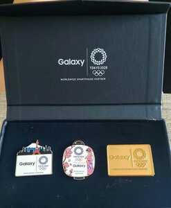 GALAXY 2020 オリンピック ピンバッチセット