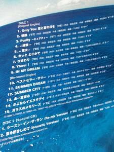 TUBE☆TUBEst 3☆2枚組のベストアルバム♪BEST。送料180円か370円(追跡番号あり)