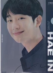 ☆New!■チョン・ヘイン■写真付【新クリアファイル③】☆韓国