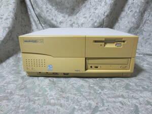 NEC PC-9821 V20◆注意◆内蔵HDDなしメモリなし◆FDとCD故障◆1