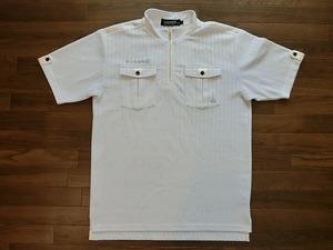 le coq sportif ルコック スポルティフ ゴルフウェア ポロシャツ ハーフジップ QG2506 L USED