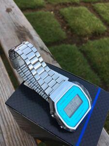【新品】カシオ腕時計 A168WEM-2 STANDARD スタンダード デジタル 並行輸入品 スカイブルー チープカシオ チプカシ クオーツ