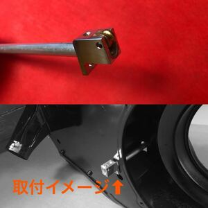 [ postage 140 jpy ~] prompt decision! air cooling VW* guide roller attaching aluminium accelerator cable guide tube KIT* Volkswagen Beetle bus Karmann-ghia