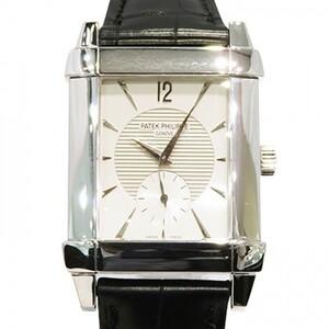 パテック・フィリップ PATEK PHILIPPE ゴンドーロ 5111G-001 シルバー文字盤 中古 腕時計 メンズ