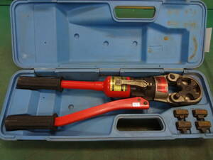 ● IZUMI 泉精器製作所 圧着端子用 手動油圧式圧着工具 9H-150  イズミ ●9