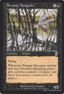 MTG 沼地の蚊 タイムシフト マジック:ザ・ギャザリング 時のらせん(タイムシフト) TSB-EN049 同梱可 ※英語版