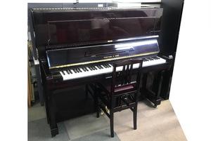 【希少品】フクヤマピアノ フクヤマ&サンズ アップライトピアノ 福山ピアノ【WILHELM】マホガニー艶出し仕上げ 88鍵盤 高低調節可イス付