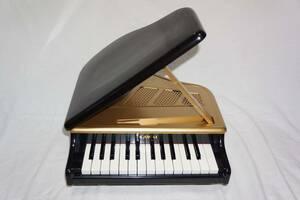 ★ KAWAI カワイ ★ 日本製 ミニ グランドピアノ ブラック 黒 トイピアノ MADE IN JAPAN 【 1106 】