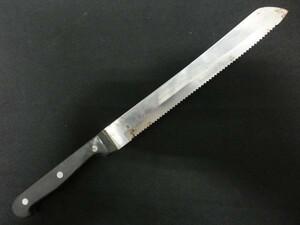 洋包丁 パン切包丁 調理器具 刃物 YUTAKA ISHINABE STAINLESS STEEL 刃渡り約185mm H0777