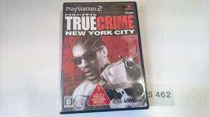 TRUE CRIME NEW YORK CITY SONY PS 2 プレイステーション PlayStation プレステ 2 ゲーム ソフト 中古