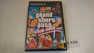 SONY グランド セフト オート バイスシティ grand theft auto vice city PlayStation プレステ 2 アクション ゲーム ソフト 中古
