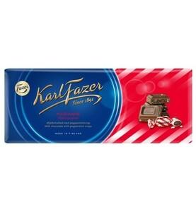 Fazer Karl Fazer ファッツェル カールファッツエル ペパーミント キシリトール チョコレート 22 枚 x 200gセット