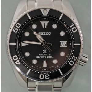 SEIKO PROSPEX セイコー プロスペックス ダイバーズ メンズ腕時計 6R35-00A0 オートマ 自動巻き 中古良品