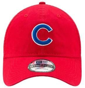 NEWERA ニューエラ キャップ 帽子 9TWENTY アジャスタブル キャップ MLB CHICAGO CUBS ベースボールキャップ