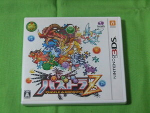 3DS★中古■パズドラZ PUZZLE&DRAGONS ★