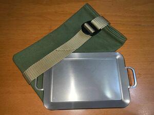 ソロ鉄板ケース B6サイズ カーキ