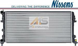 【M's】アウディ A1 8X (2010y-2014y)NISSENS製 ラジエーター//AUDI 社外品 ラジエター コア スポーツバック 6R0-121-253A 6R0121253A