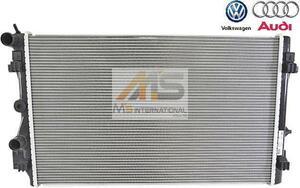 【M's】アウディ A1 8X(15y-17y) VW ポロ 6R/6C(13y-18y) 優良社外品 ラジエーター//ラジエター POLO AUDI 6R0-121-253R 6R0121253R