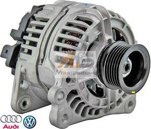 【M's】VW ニュービートル (9C/1C/1Y) ポロ (6N/6K/9N) トゥーラン (1T) シャラン (7M) オルタネーター // 純正OEM 028903028D 06A903026