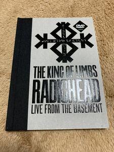 良品 希少 DVD RADIOHEAD THE KING OF LIMBS LIVE FROM THE BASEMENT 2011 レディオヘッド 輸入盤 送料無料