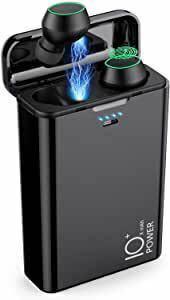 【13800mAh 超大容量 自動ペアリング】 Bluetooth ワイヤレス イヤホン IPX7防水 タッチ操作 Hi-Fi 高音質 片方&両方使用可能 Bluetooth