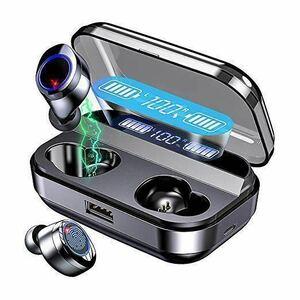 【令和最新版 LED電量表示 Bluetooth5.0 イヤホン 140時間連続駆】Bluetooth イヤホン ワイヤレス イヤホン HiFi高音質 3Dステレオ