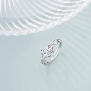 【即日発送】 送料無料 即決 四つ葉 4連CZダイヤモンドリング フリーサイズ 絢爛 憧れの最上級 極上の逸品 必見 オススメ プラチナ仕上