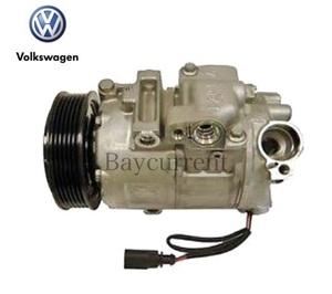 【正規純正OEM】 VW フォルクスワーゲン POLO ポロ エアコンコンプレッサー ACコンプレッサー 2005y-2014y デンソー 6Q0820808F 6Q0820803D