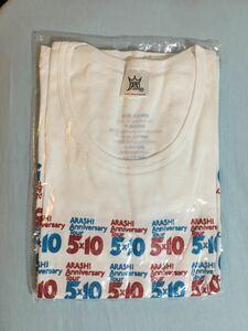 嵐 5×10 tシャツ 半袖Tシャツ