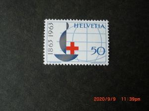 63年スイスの記念切手6種ーボーイスカウト50年他 6種完 未使用 1963年 スイス共和国 VF/NH