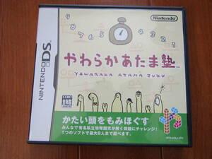 DS ソフト やわらかあたま塾 NINTENDO ニンテンドー