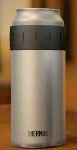 早い者勝ち!冷えた缶ビールに最適!ベストセラーサーモス保冷缶ホルダー500ml